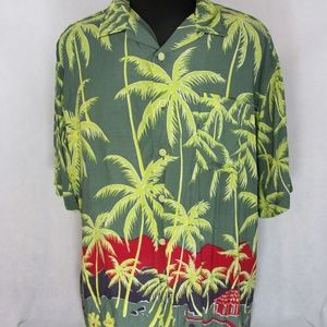Vtg Polo Sport Ralph Lauren Men's Floral Hawaiian